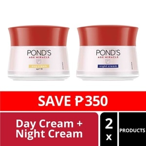 PONDSPonds [LIMITED OFFER] Pond's Age Miracle Day & Night Cream 50g,For WomenBest Selling Products