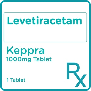 KEPPRALevetiracetam 1000mg 1 Tablet [PRESCRIPTION REQUIRED],Neuro and Pain Medicines