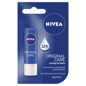 NIVEALip Care Original Care 4.8g,For WomenClean Beauty