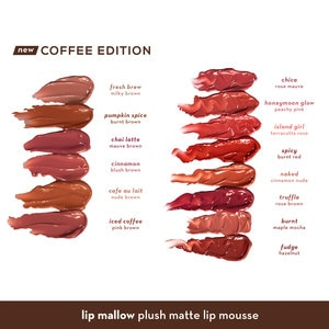 HAPPY SKINLip Mallow Mousse Coffee Edition in Fresh Brew 3ml,Lipstick , Lip Tint and LiplinersWATSONS EMP. DISC.