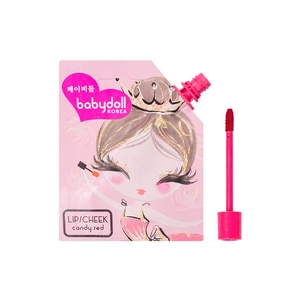 BABY DOLLLip and Cheek Tint Candy Red,Lipstick , Lip Tint and LiplinersKBeauty