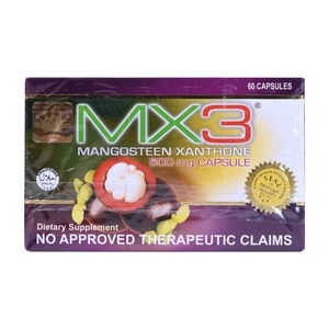 MX3Mangosteen Xanthone 500mg 1 Capsule,Multivitamins and Overall WellnessBest Selling Products