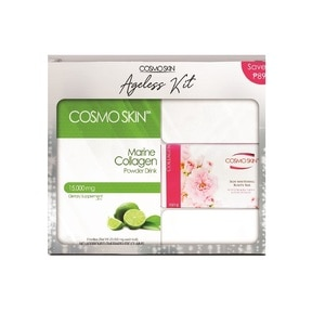 COSMO SKINMarine Collagen Kit Lime With Free Soap,Anti-aging