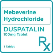 Mebeverine Hydrochloride 100mg 1 Tablet [PRESCRIPTION REQUIRED]