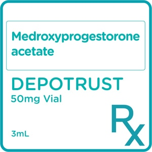 DEPOTRUSTMedroxyprogesterone acetate 50 mg/mL Suspension for Injection 3mL [PRESCRIPTION REQUIRED],Others