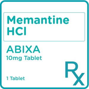 ABIXAMemantine Hydrochloride 10mg 1 Film Coated Tablet [PRESCRIPTION REQUIRED],Neuro and Pain Medicines