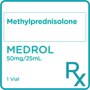 MEDROLMethylprednisolone 500mg/7.7mL Powder for Injection 1 Vial [PRESCRIPTION REQUIRED],Others