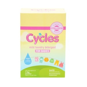CYCLES BABYMild Laundry Detergent For Babies 1kg Powder,HELLOWT
