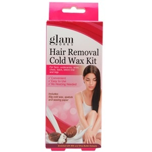GLAMWORKSMilk and Shea Butter Hair Removal Wax 50g,For WomenFREE (1) Derma C Face Mask for every purchase of P800 worth of skin care items