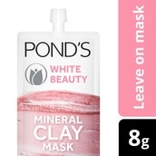 White Beauty Mineral Clay Mask 8g
