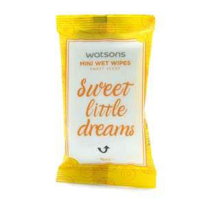 WATSONSSweet Scented Mini Wipes 8sheets,Face and Body Wipes-