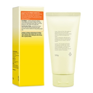 COLLAGEN WSMoistuirisng and Purifying Foam Cleanser 120g,For WomenWhat A Splash: All Products