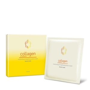 COLLAGEN WSMoisturising & Brightening Aqua Crystal Facial Mask 1 Sheet,For MenFREE (1) Watsons Collgn Wr Instnt Fnshng Crm10ml for every purchase on any of selected Watsons Collagen and Dermaction Plus products