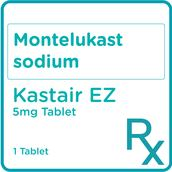 Montelukast Sodium 5mg 1 Tablet [PRESCRIPTION REQUIRED]