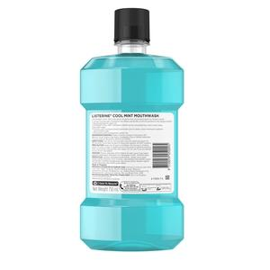 LISTERINEMouthwash Cool Mint 750ml,Mouthwash and Oral AntisepticsOral Care