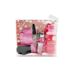 PRETTY SECRETNail Tool Kit with Cuticle Remover 60ml,Foot CareHELLOWT