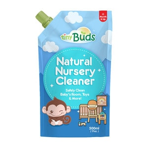 TINY BUDSNatural Nursery Cleaner 500ml,WCFREEDELIVERACARE1