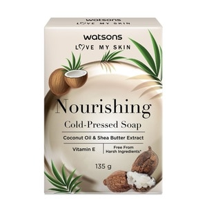 WATSONSNourishing Cold Pressed Soap 135g,Bar SoapSwitch and Save