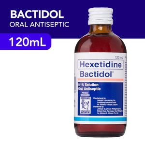 BACTIDOLBactidol Oral Antiseptic 120ml,Mouthwash and Oral AntisepticsBest Selling Products
