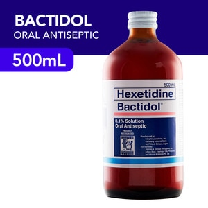 BACTIDOLBactidol Oral Antiseptic 500ml,Mouthwash and Oral AntisepticsBest Selling Products