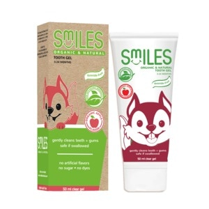 SMILES BABYOrganic & Natural Tooth Gel 3-24 Months Clear Gel 50ml,Oral CareHELLOWT