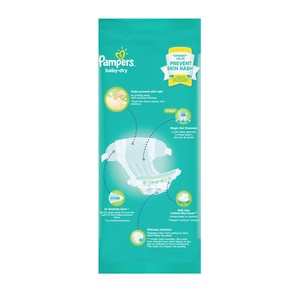 PAMPERSBaby Dry Taped Diaper Small 4,Tape DiapersWCFREEDELIVER