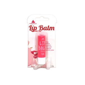 PRETTY SECRETPink Lip Balm with Tint 4.8g,For WomenFree (1) Watsons Dermaction Plus Antiacne St20x2 for every purchase of Skin Care products