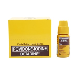 BETADINEPovidone Iodine 10% Wound Solution 7.5mlx6's,Alcohol and Disinfectant