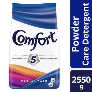 COMFORTPowderDetergent Casual Care 2250g Pouch,Home Essentials