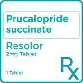 Prucalopride succinate 2mg 1 Tablet [PRESCRIPTION REQUIRED]