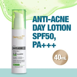 DAP BY WATSONSPure Anti-Acne Day Lotion SPF50 40ml,For Womensensitive skin solutions
