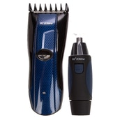 Rechargeable Hair Clipper & Nose Trimmer (Plug & Play)