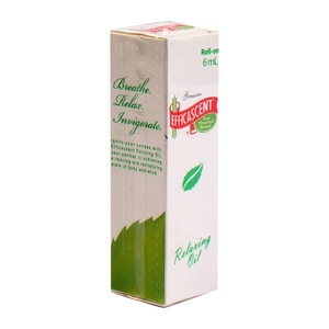 EFFICASCENT OILRelaxing oil 6mL,Traditional Medicine