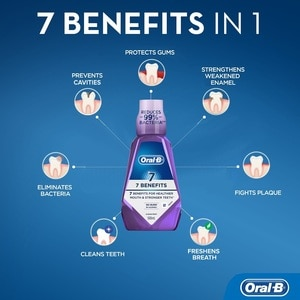ORAL BRinse 7 Benefits 500ml,Mouthwash and Oral AntisepticsOral Care