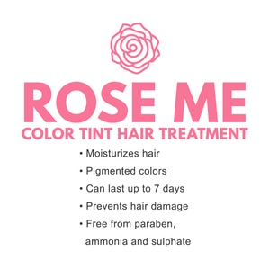 CATHY DOLLRose Me Color Tint Hair Treatment 25ml - Pink Rose,Instant Hair Color/ Temporary Hair Dye
