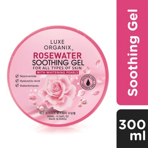 LUXE ORGANIXLuxe Organix Rosewater Soothing Gel 300g,For WomenBest Selling Products