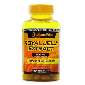 PURITANS PRIDERoyal Jelly 500mg 120 Softgels,Multivitamins and Overall Wellness