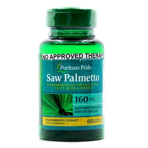 PURITANS PRIDESaw Palmetto Extract 160 mg 60 Softgels,Multivitamins and Overall Wellness