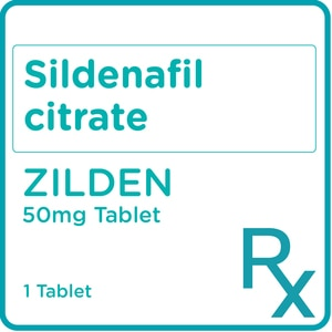 ZILDENSildenafil citrate 50mg 1 Film-coated Tablet [PRESCRIPTION REQUIRED],Others