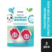 Snap-On Toothbrush Protector For Kids 2pcs