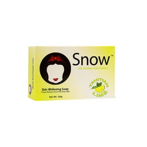 SNOWSnow Barsoap W Tahitian Lime Extract125g,Bar SoapHELLOWT