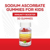 Sodium Ascorbate Gummies with Zinc and Acerola for Kids