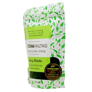BATH FAVORITESSoothing Matcha Exfoliates & Smoothens Skin Detoxifies & Repairs 350g,Body Salt and ScrubWhat A Splash: All Products