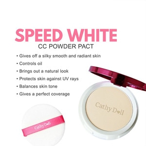 CATHY DOLLSpeed White CC Powder Pact SPF 40 PA+++ #23 Natural Beige 4.5g,PowderAll Must Go Sale