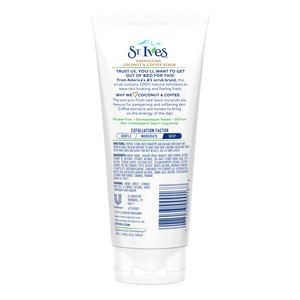 ST IVESSt. Ives Face Scrub Energizing Coffee 6oz,For WomenClean Beauty