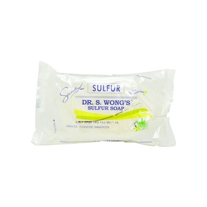 DR WONGSSulfure Soap with Moisturizers Aloe Vera 135g,Bar SoapSummer Essentials