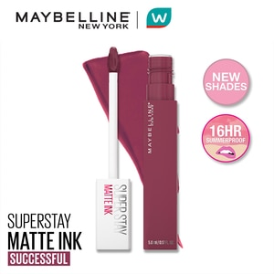 MAYBELLINESuperStay Matte Ink Radical Pink Collection Liquid Lipstick - 165 Successful [16HR Longwear - Waterproof],Lipstick , Lip Tint and LiplinersWCFREEDELIVER