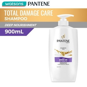 PANTENEShampoo Total Damage Care 900ml,Everyday ShampooGet 1 Free Maxipeel Sun Protect Cream 15g when you buy any of selected Personal Care products per transaction.