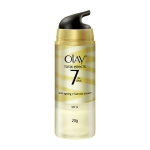 OLAYTotal Effects Anti-Ageing+Fairness Cream SPF15 20g,For WomenHot Summer Drops