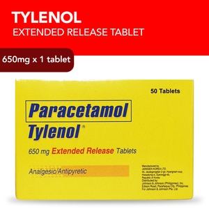 TYLENOLTylenol 650mg 1 Extended Release Caplet,Pain/FeverBest Selling Products